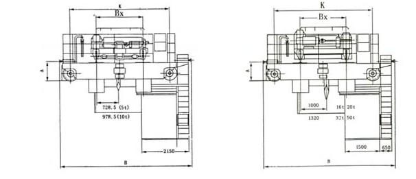 qd型电动吊钩桥式起重机|起重机械|起重配件|镇江宇